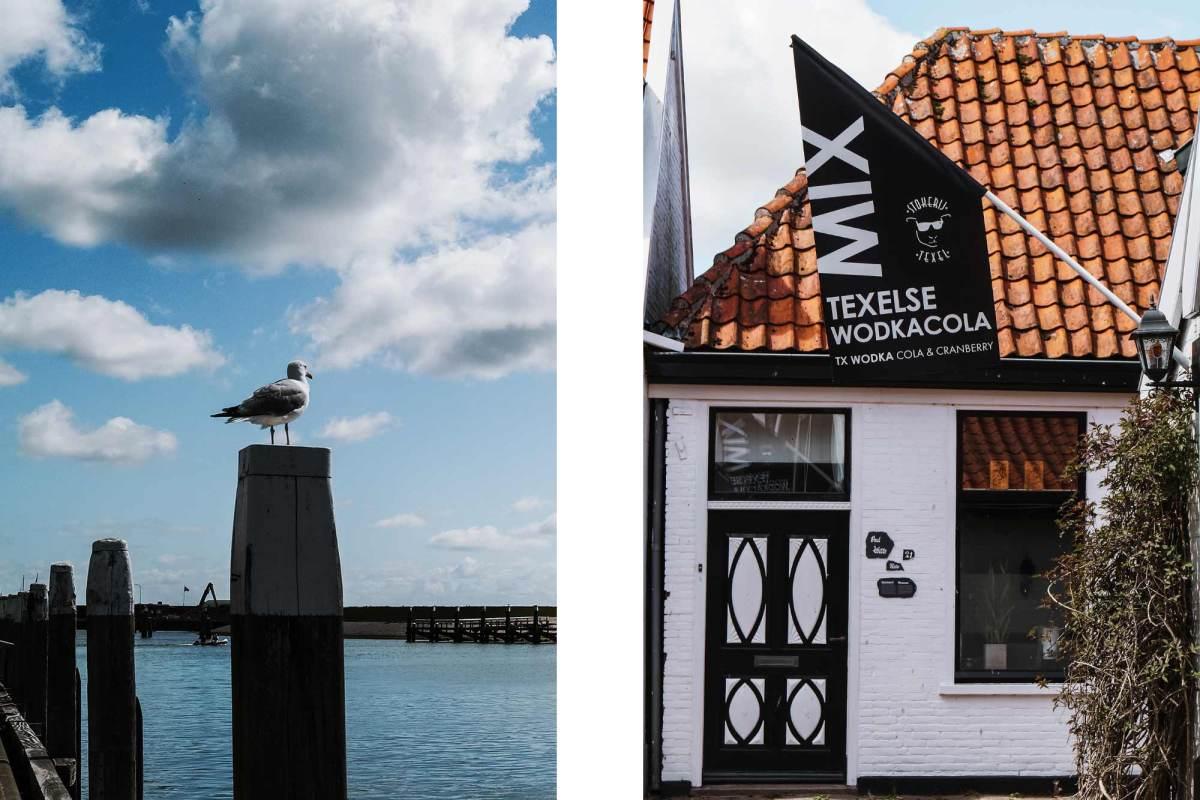 Van Den Helder naar Texel met de veerboot