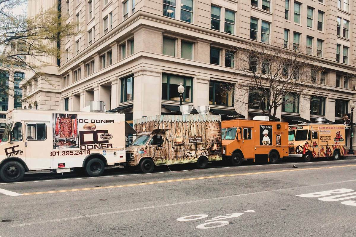 Foodtrucks Washington stedentrip