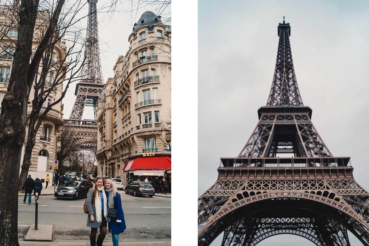 Bezoek de Eiffeltoren in Parijs