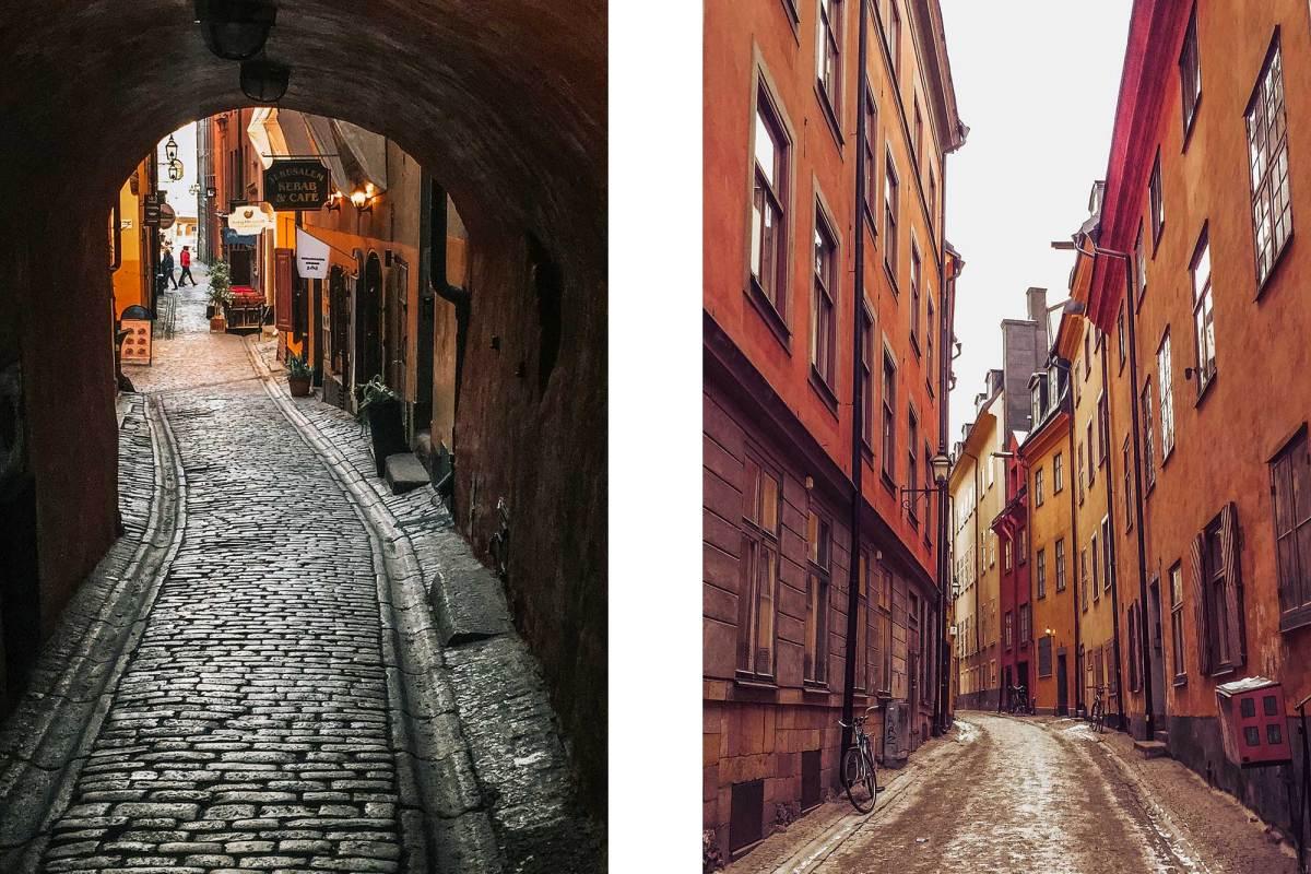 Het oude stadscentrum Gamla Stan in Stockholm