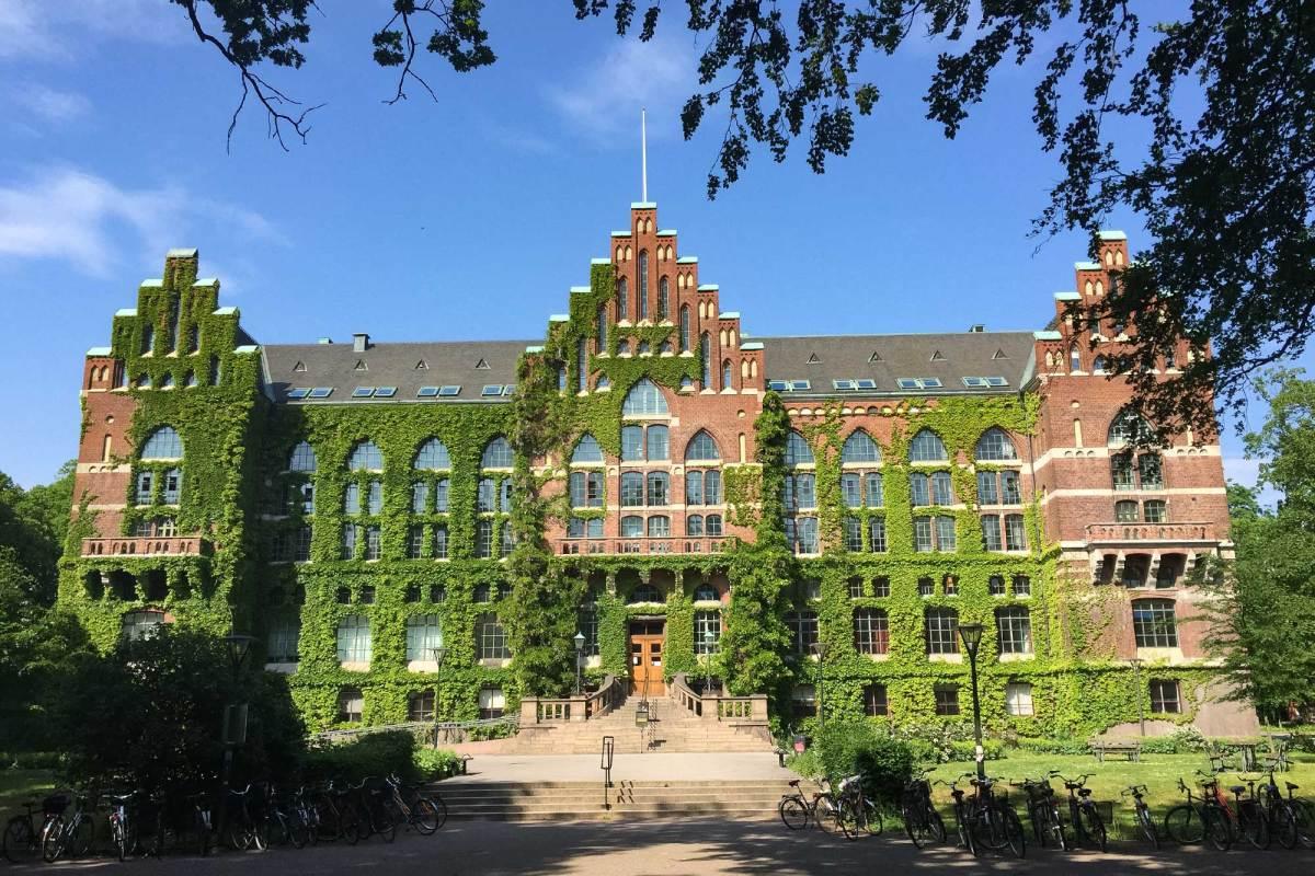 Bibliotheek van de universiteit van Lund