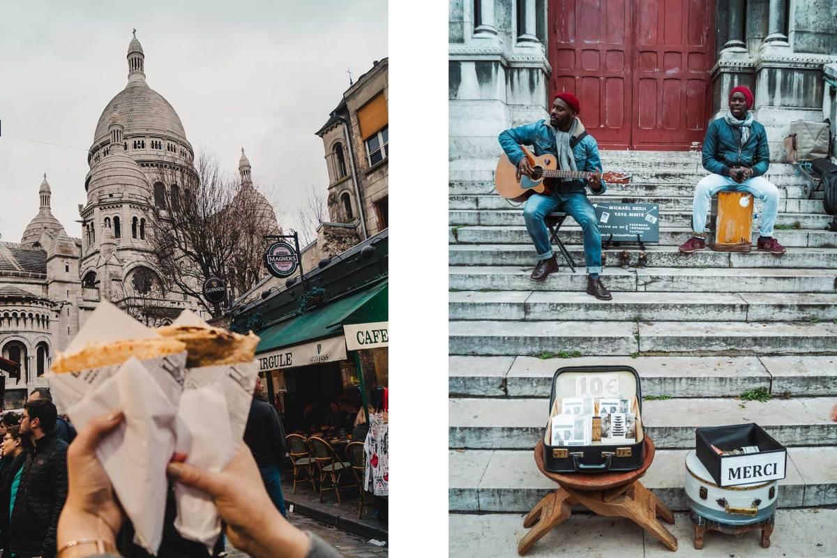 Bezoek de schilderswijk Montmartre in Parijs