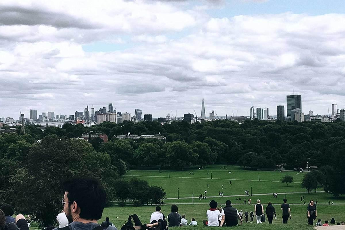 Picknicken Londen