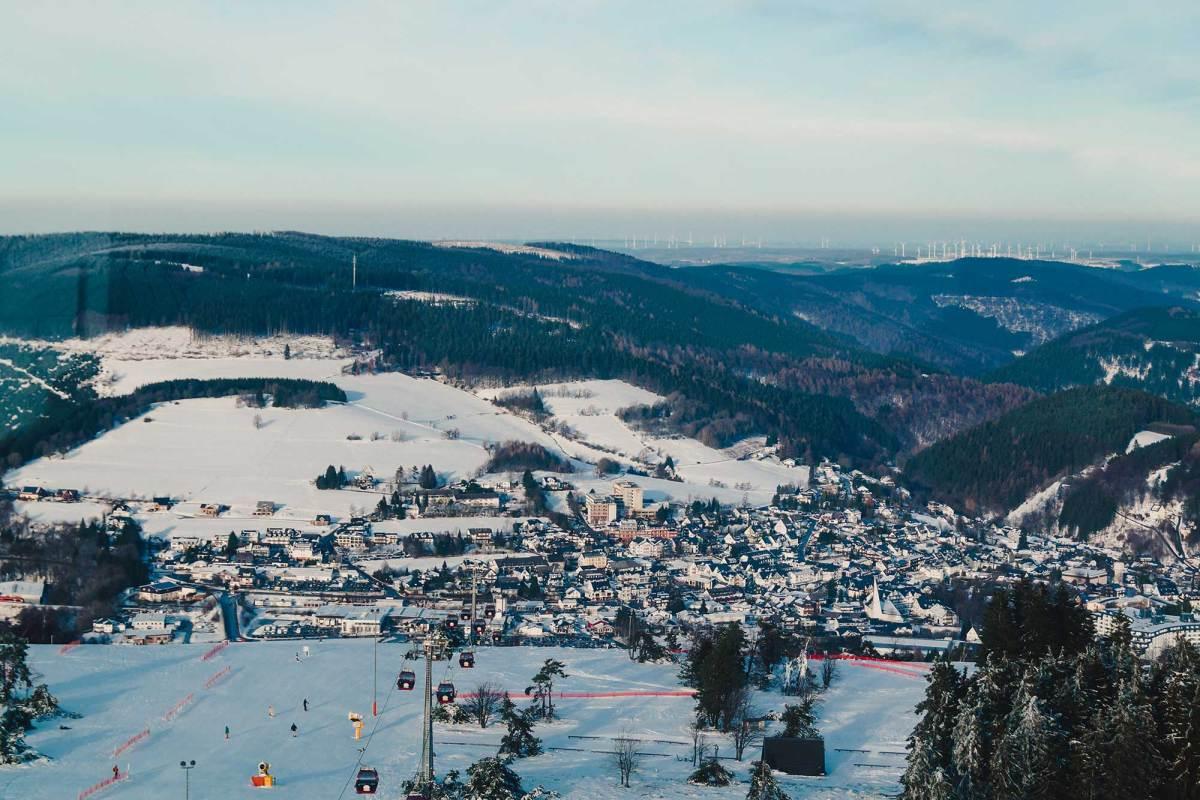 Beste reistijd naar Winterberg