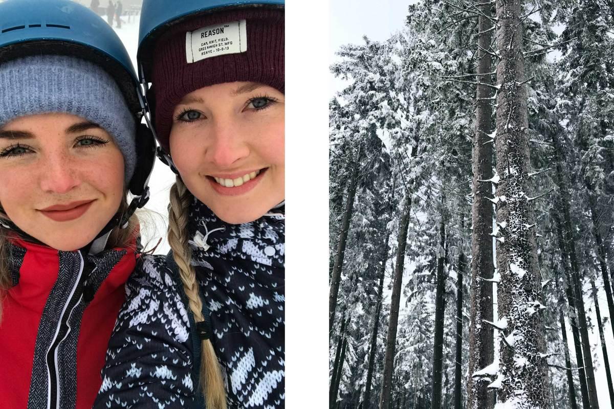 Het wintersportgebied van Winterberg