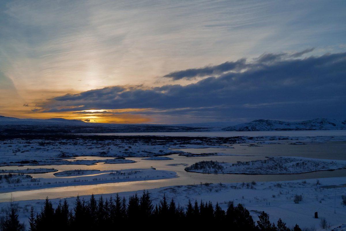 Nationaal park Thingvellir IJsland