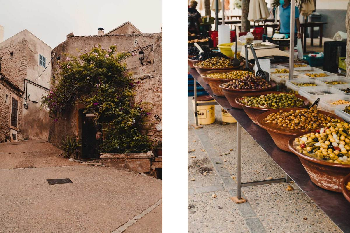 Weekmarkt Capdepera in Mallorca bezoeken