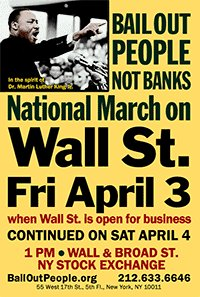 National March on Wall Street