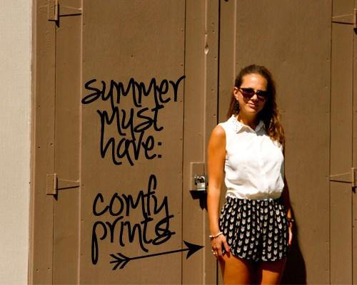 Summer Must Have: Comfy Prints