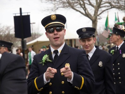 St. Patricks' Day Parade Newport Ri Doug Randall