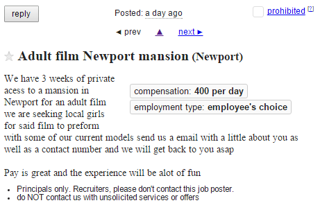 Newport Mansion Adult Film