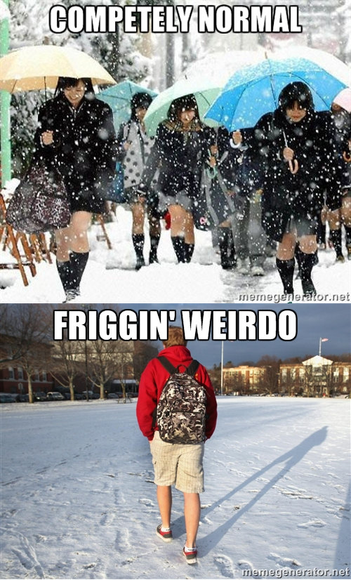 An Odd Sexual Bias In Winter Fashion