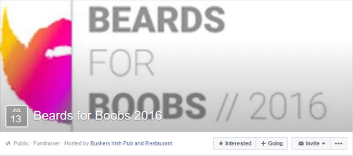 Beards For Boobs FB Event 2016