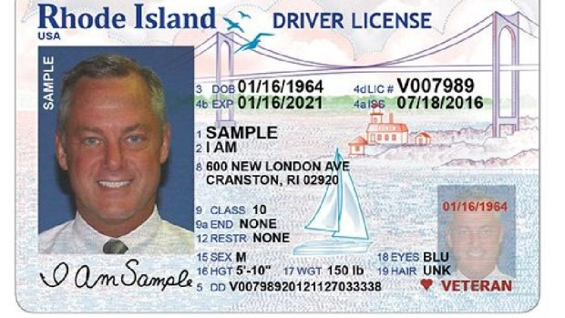 New RI Driver License