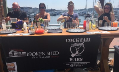 Cocktail Wars Newport, RI Semi-Finals Skiff Bar Broken Shed Vodka