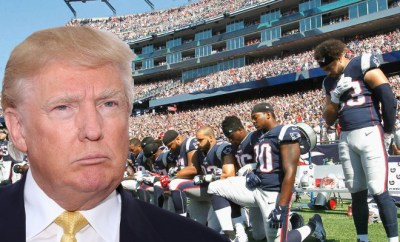 Trump Patriots Take A Knee
