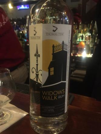 Thomas Tew Widows Walk Overproof Rum