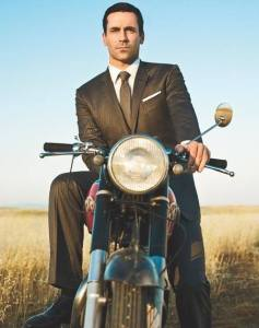 Don Draper Motorcycle