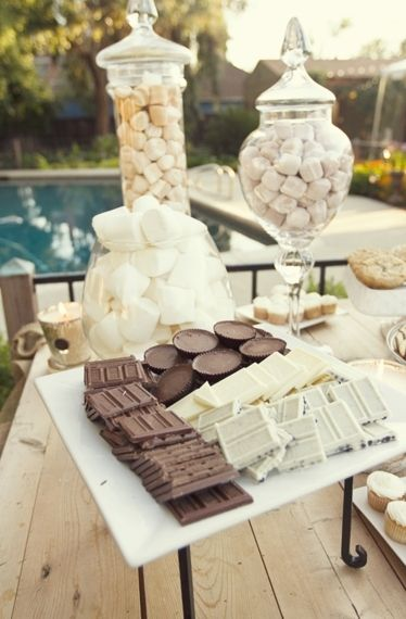 Sweet Stations for a Winter Wedding | The Newport Bride
