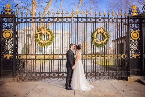 Brittany and Trevor's Christmas Wedding at Newport Vineyards   The Newport Bride