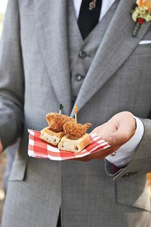 Chicken and Waffles | TheNewport Bride