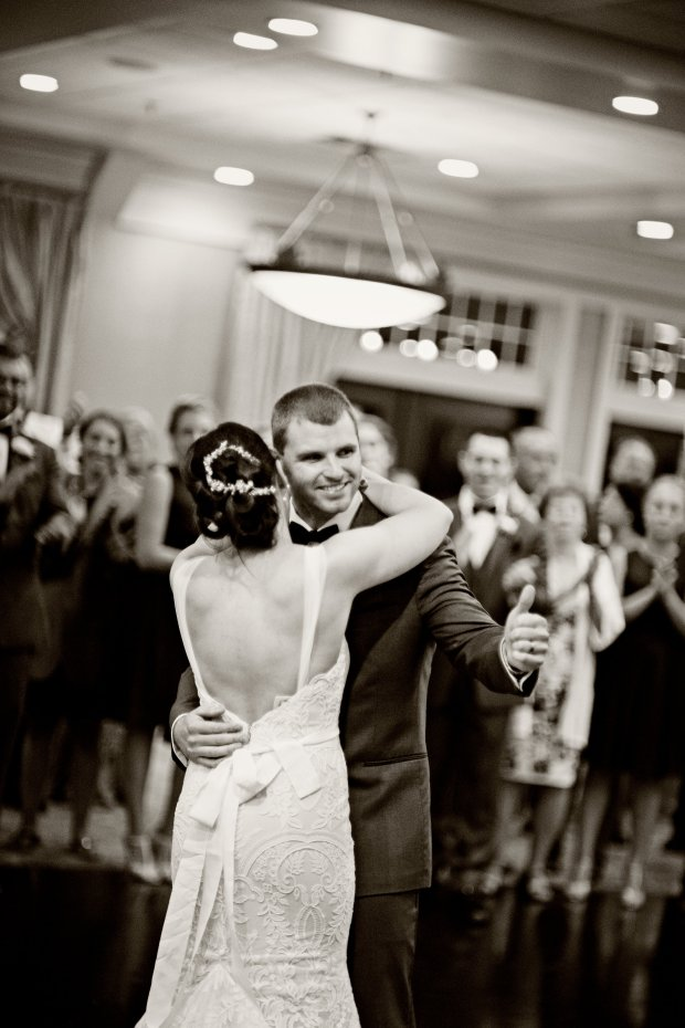 Stephanie and Tim's Atlantic Beach Club Wedding   The Newport Bride