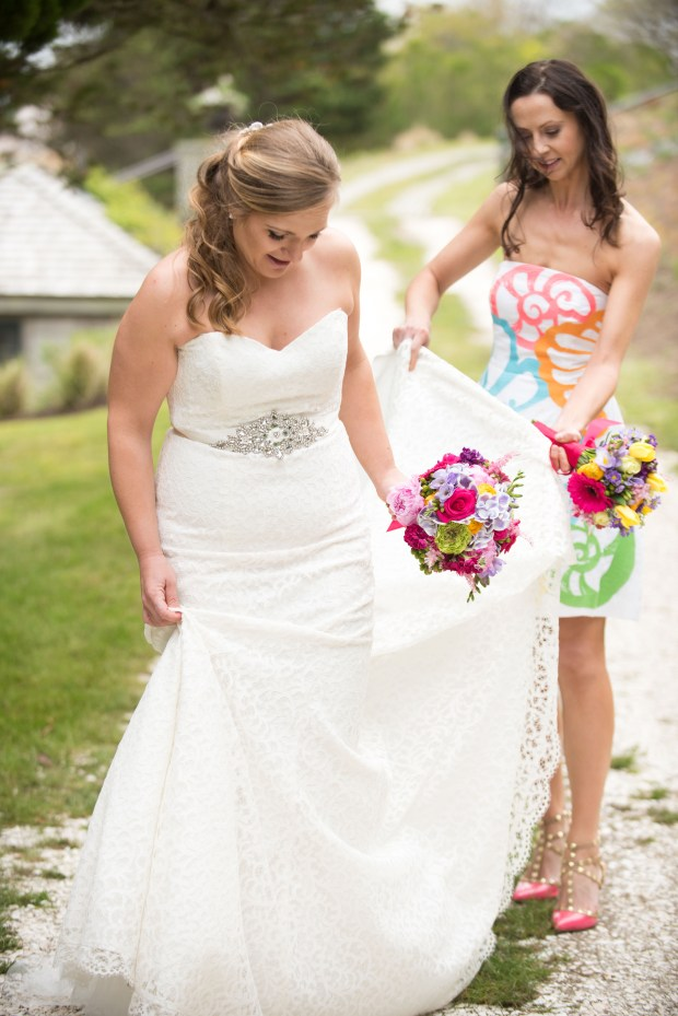 Lilly Pulitzer Styled Shoot at Westmoor Club | The Newport Bride