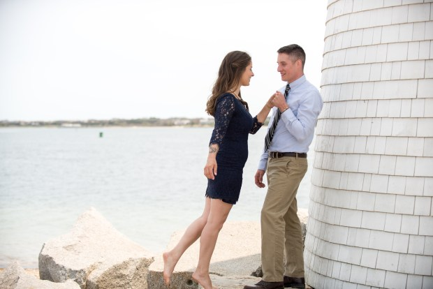 Nantucket Styled Engagement Shoot | The Newport Bride