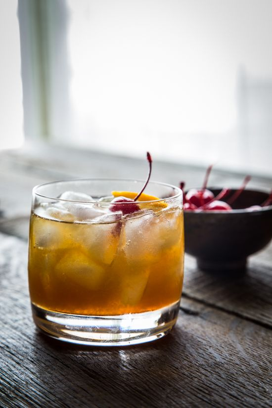 Maple Bourbon Cocktail | Favorite Fall Cocktails