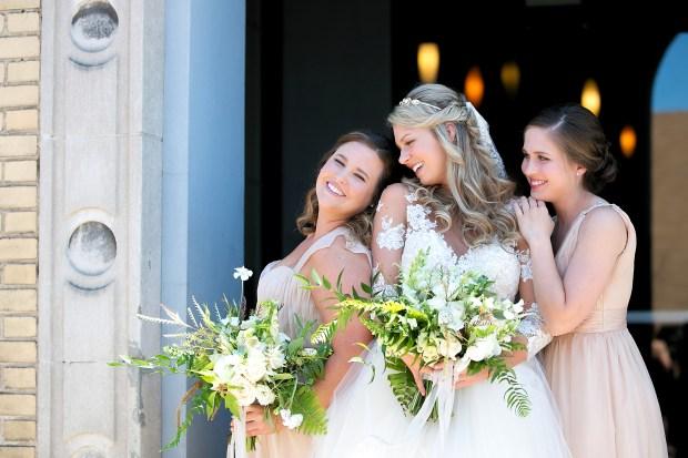 Bride and Bridesmaids | The Newport Bride