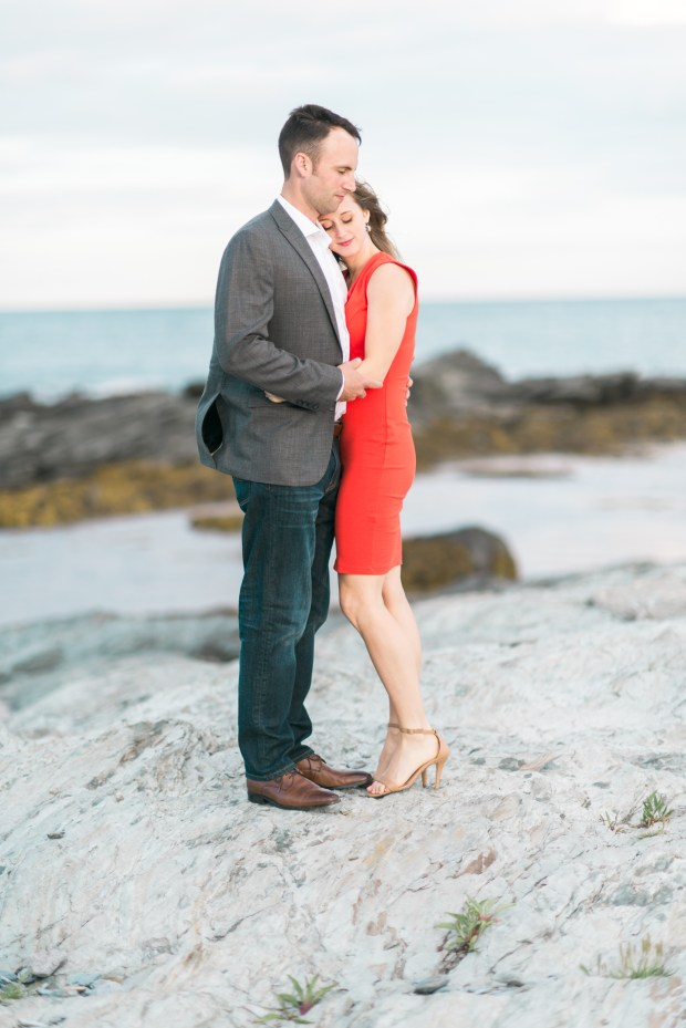 Morgan and Ben's Newport Engagement Shoot - P.S. They brought their puppy! | The Newport Bride