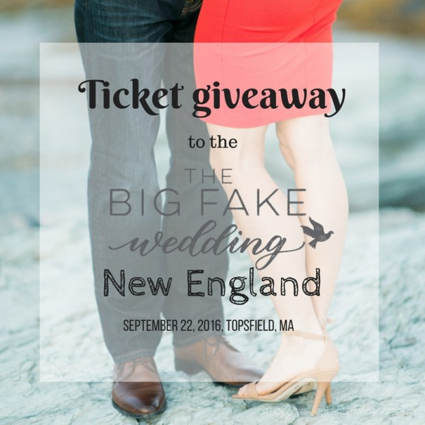 Big Fake Wedding New England | The Newport Bride