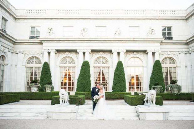 Lindsey and Anthony's Rosecliff Wedding   The Newport Bride