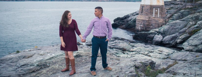 Charlie and Lisa's Newport Engagement Shoot   The Newport Bride