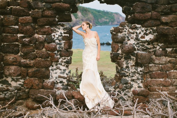 Interview with bridal designer Lindee Daniel on The Newport Bride