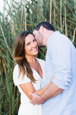 Summer Sea Side Engagement Session on The Newport Bride