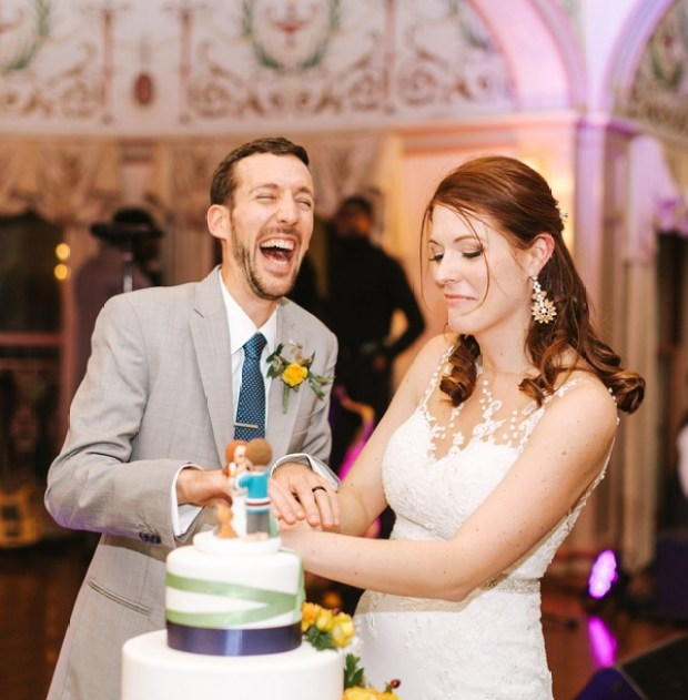 Kate and Tyrone's Roger Williams Casino Wedding on The Newport Bride