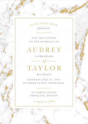4 Invitation Trends on The Newport Bride