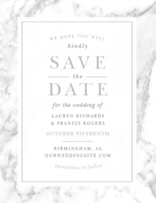 4 Invitation Design Trends on The Newport Bride