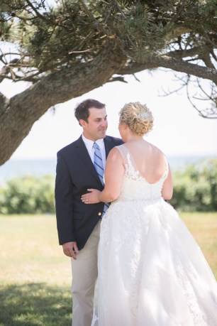 The Newport Bride Holly and Mike's Castle Hill Inn Wedding 1