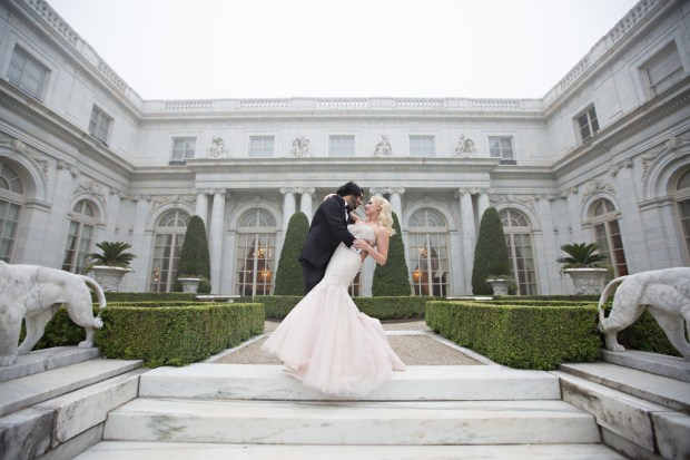 Ariana and Elie's Blush Toned Rosecliff Wedding on The Newport Bride a Rhode Island Wedding BlogAriana and Elie's Blush Toned Rosecliff Wedding on The Newport Bride a Rhode Island Wedding Blog