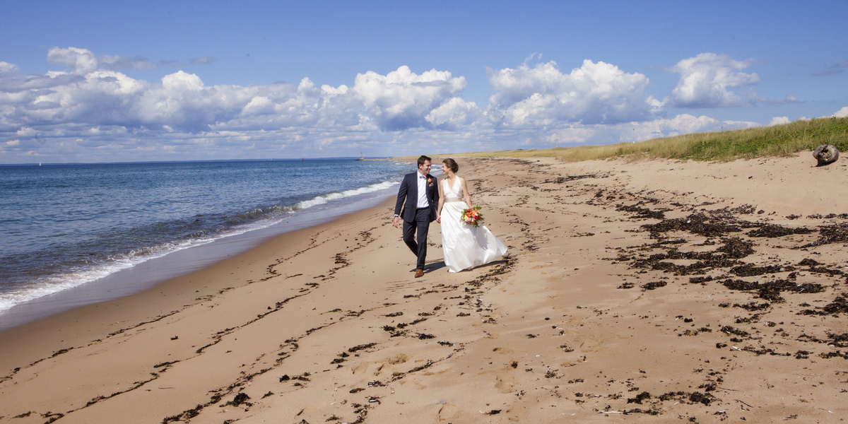 Claire and Tyler's Block Island Wedding at The Coast Guard House