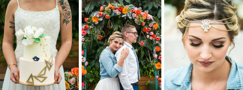 Eclectic Rooftop Styled Shoot