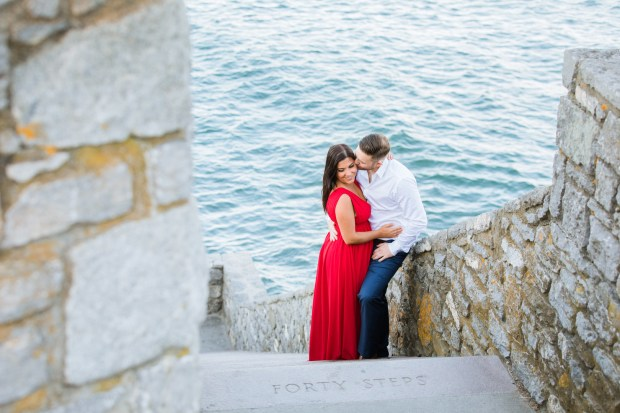 Tanya and Geno's Engagement Session on The Newport Brde