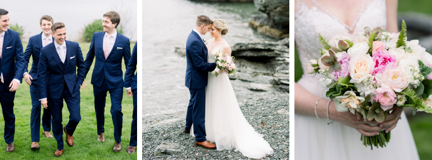 Amanda and Ryan's Castle Hill Inn Wedding