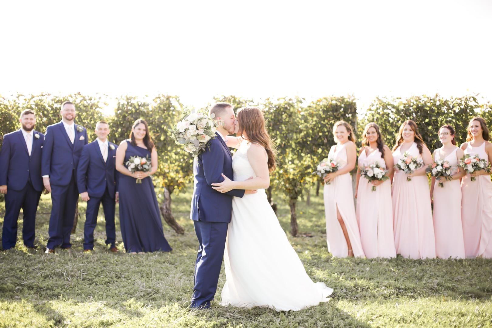 Liz and Riley's Newport Vineyards Wedding