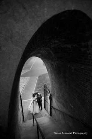 Fort Adams, Newport, RI wedding photographer