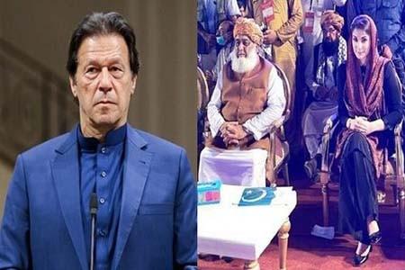 পদত্যাগ না করলে লংমার্চের ঘোষণা পাকিস্তানে