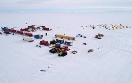 The deadly virus, which has spread around the world from China's Wuhan, has not caught on in Antarctica. It goes without saying that there is almost no risk of infection. So everyone is safe here.