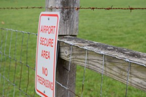 Blacksburg, Va, April 2-Do Not Pass: Do not trespass or wander off trails. Officer Guilliams says most of the injuries he sees involve people going where they are not allowed. Photo: Becky Shumar